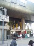 東京文化会館入り口